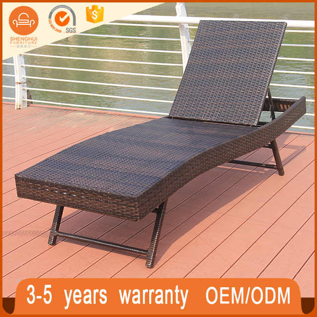 Garden Patio Chaise Lounge Lying Bed Rattan Furniture Philippines Sh