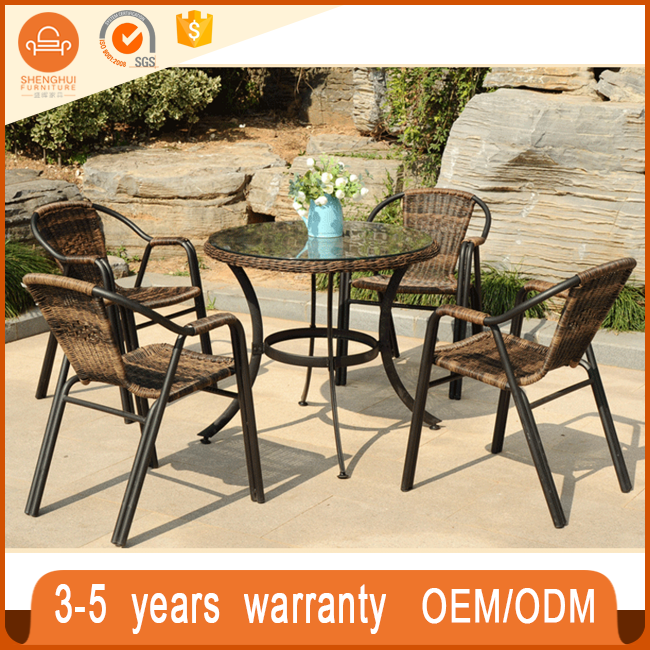 High Quanlity Garden Benchcraft Rattan Wicker Flat Pack Outdoor Furniture  On Sale(SH TB136)