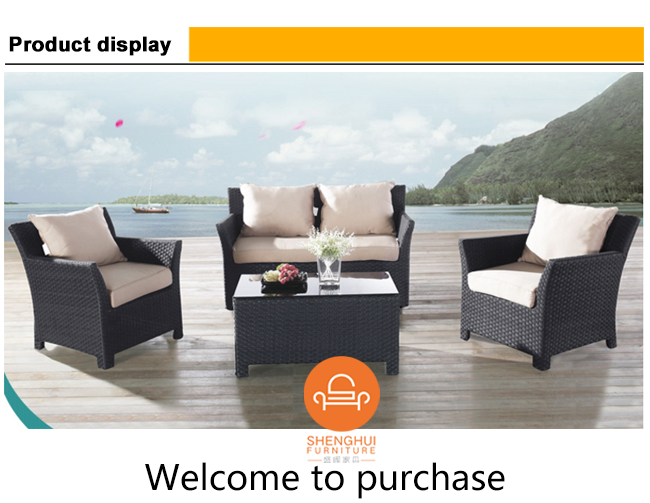 garden furniture from china with prices synthetic rattan outdoor