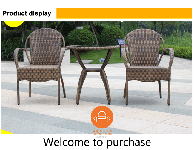 Outdoor Furniture Set Garden Rattan Wicker Chair Wholesale Patio