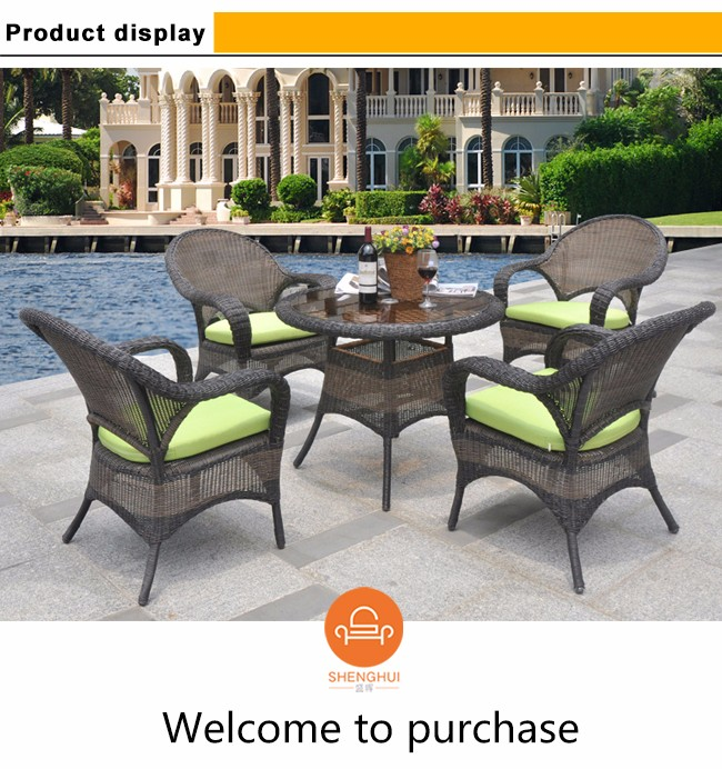 Outdoor Patio Garden Rattan Furniture Table Chairs Set Wholesale - Buy table and chairs wholesale