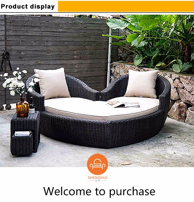 Products ... - Blast Selling Elegant Round Lounge Sofa Bed Rattan Pation Value City